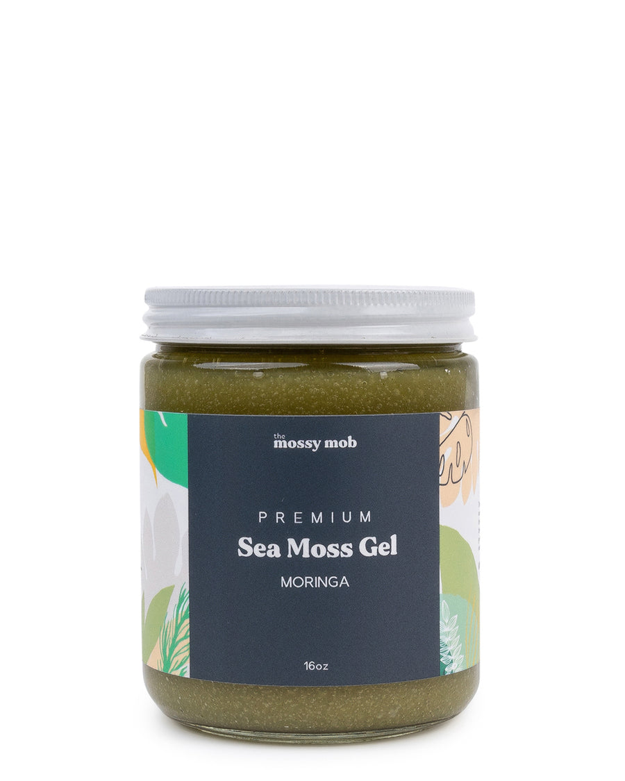 Moringa Me, Baby! Wildcrafted Irish Sea Moss Gel