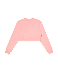 Cozy Crop Sweatshirt PINK
