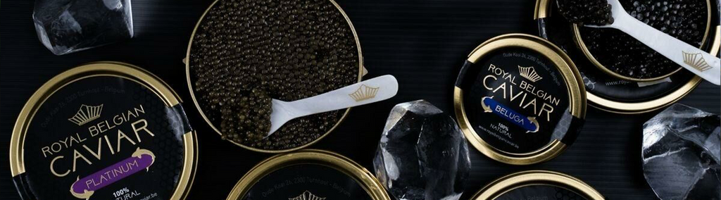 Picture of different types of Royal Belgian Caviar