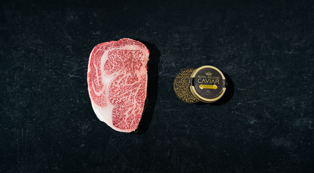 Picture of Wagyu and caviar