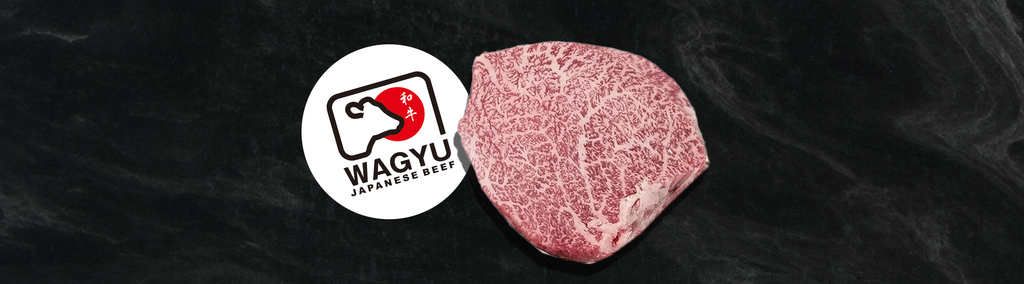 Picture of Japanese Wagyu Tenderloin with the official Wagyu logo