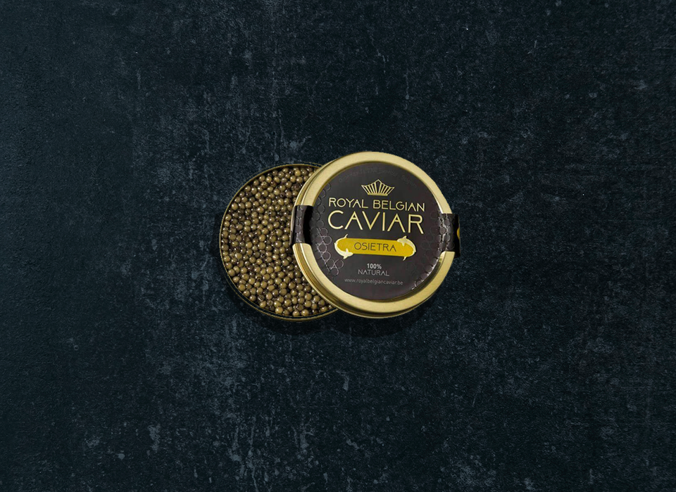 Picture of Osietra Label Royal Belgian Caviar
