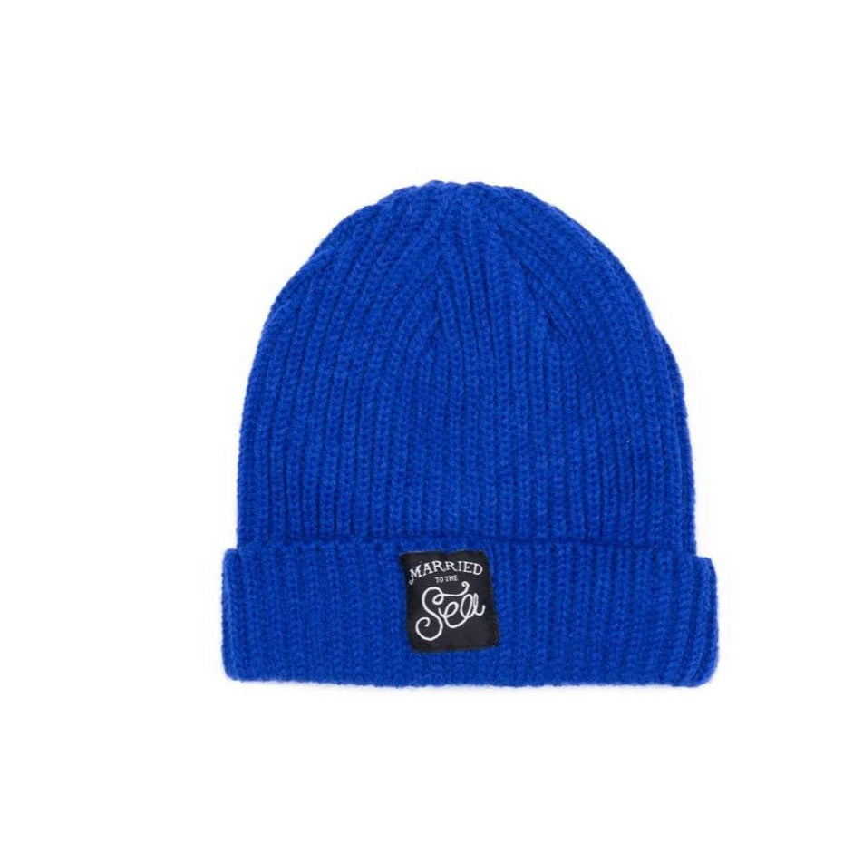Bright Royal Blue Trawler Beanie