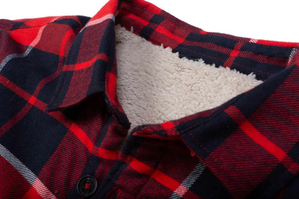 Lumberjack shirt red check