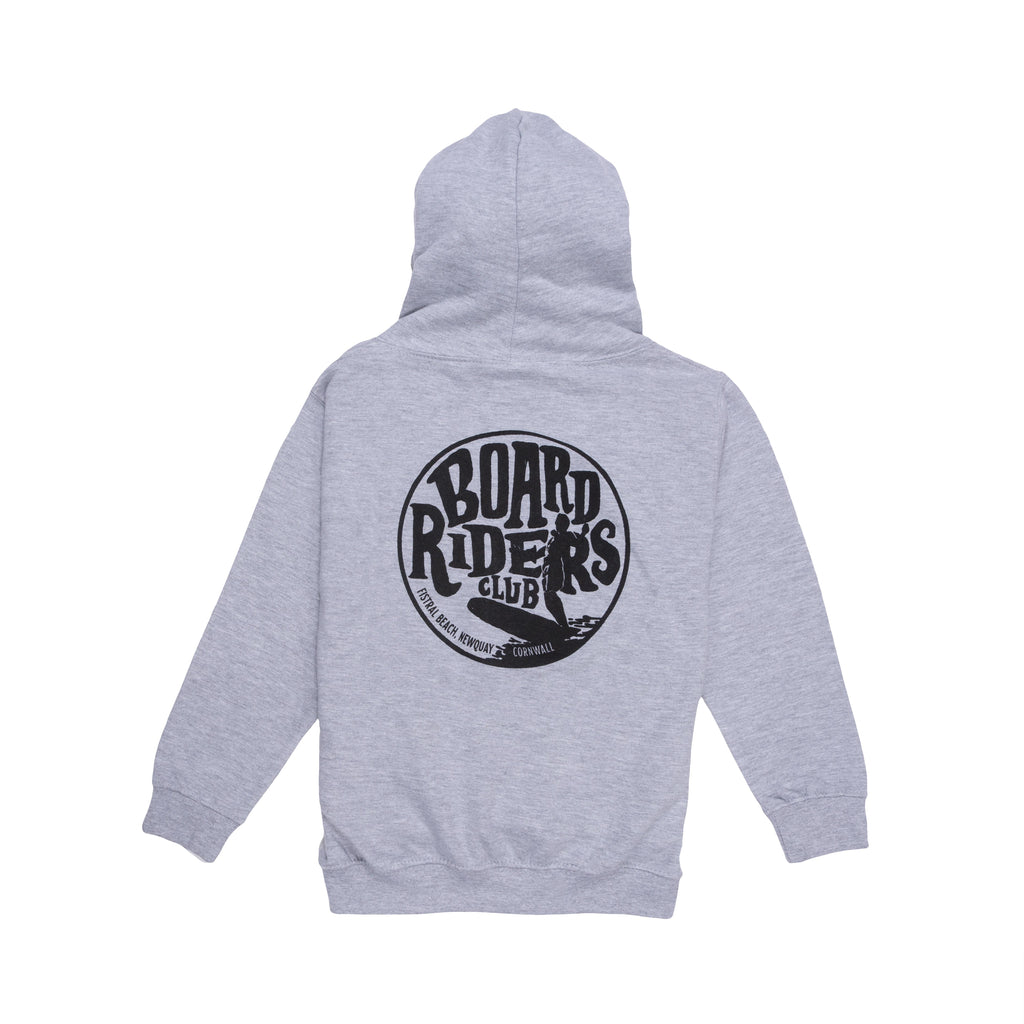 Boardriders Longboard Hoodie athletic heather at Married to the Sea