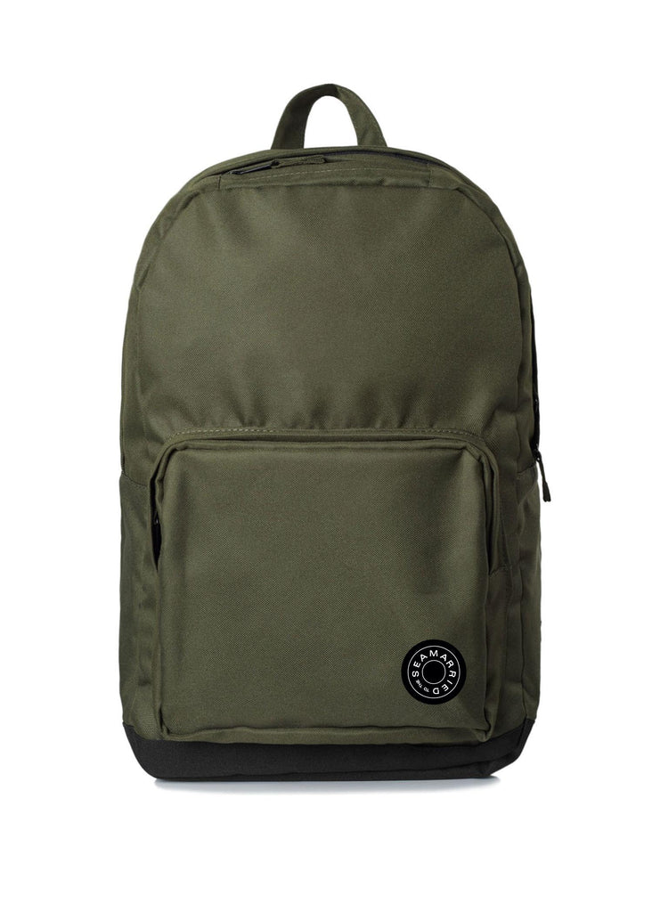 Contrast backpack army
