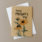 Illustrated Sunflower Mother's Day Card