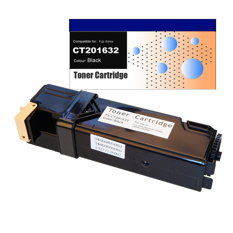 Compatible Toner for Fuji Xerox CT201632 (CP305) Black Toner Cartridges