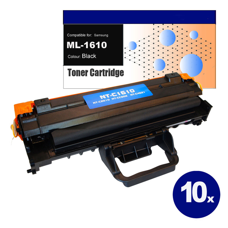 10x Compatible Toner for Samsung ML-1610 Black Toner Cartridges