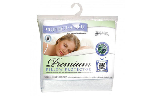 Premium Pillow Protector: Cotton Terry Towelling