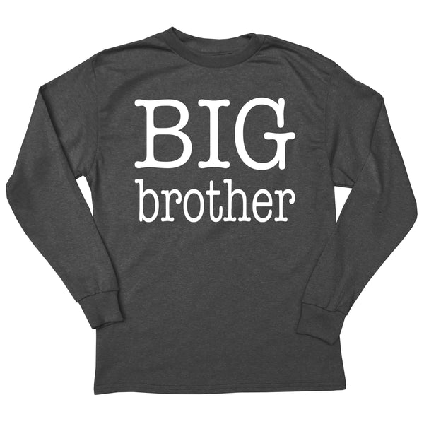 Type Font Big Brother Long Sleeve T-Shirt
