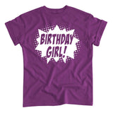 Superhero Birthday Girl! T-Shirt