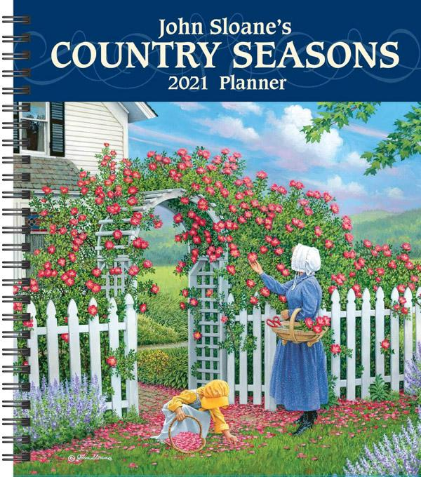 John Sloane's Country Seasons 2021 Monthly/Weekly Planner
