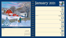 Load image into Gallery viewer, John Sloane's Country Seasons 2021 Monthly/Weekly Planner