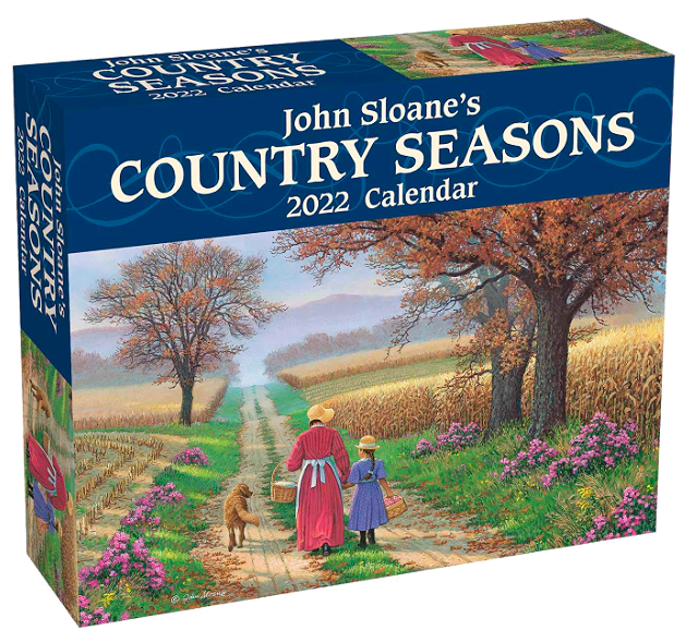 John Sloane's Country Seasons 2022 Day-to-Day Calendar