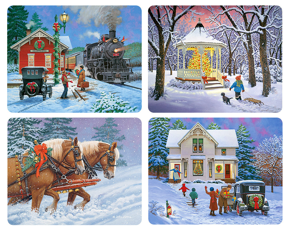 Almost Christmas Magnet Set