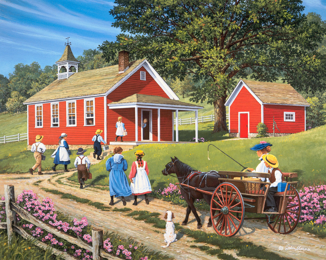 Back to School - Puzzle by John Sloane