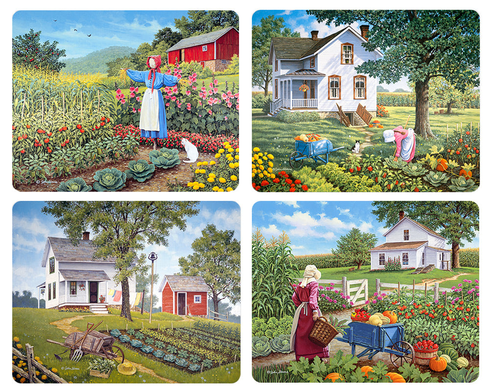 Country Gardens Magnet Set