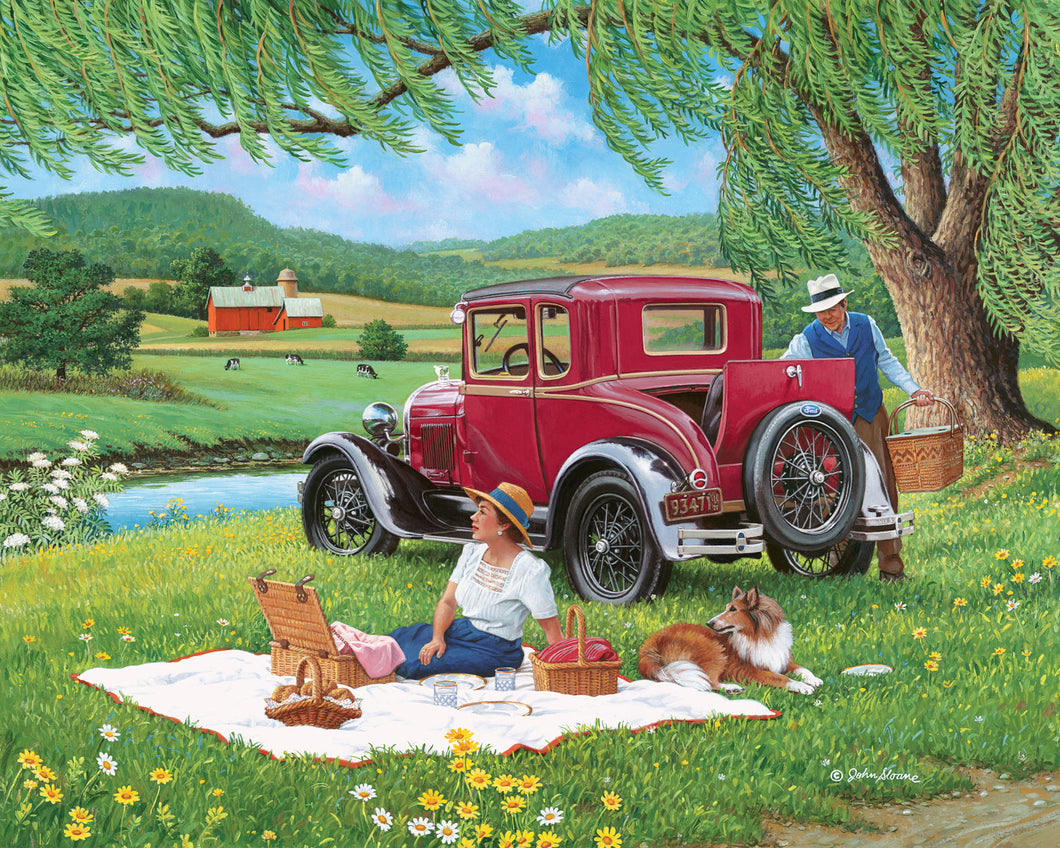 Far From the Crowd - Puzzle by John Sloane