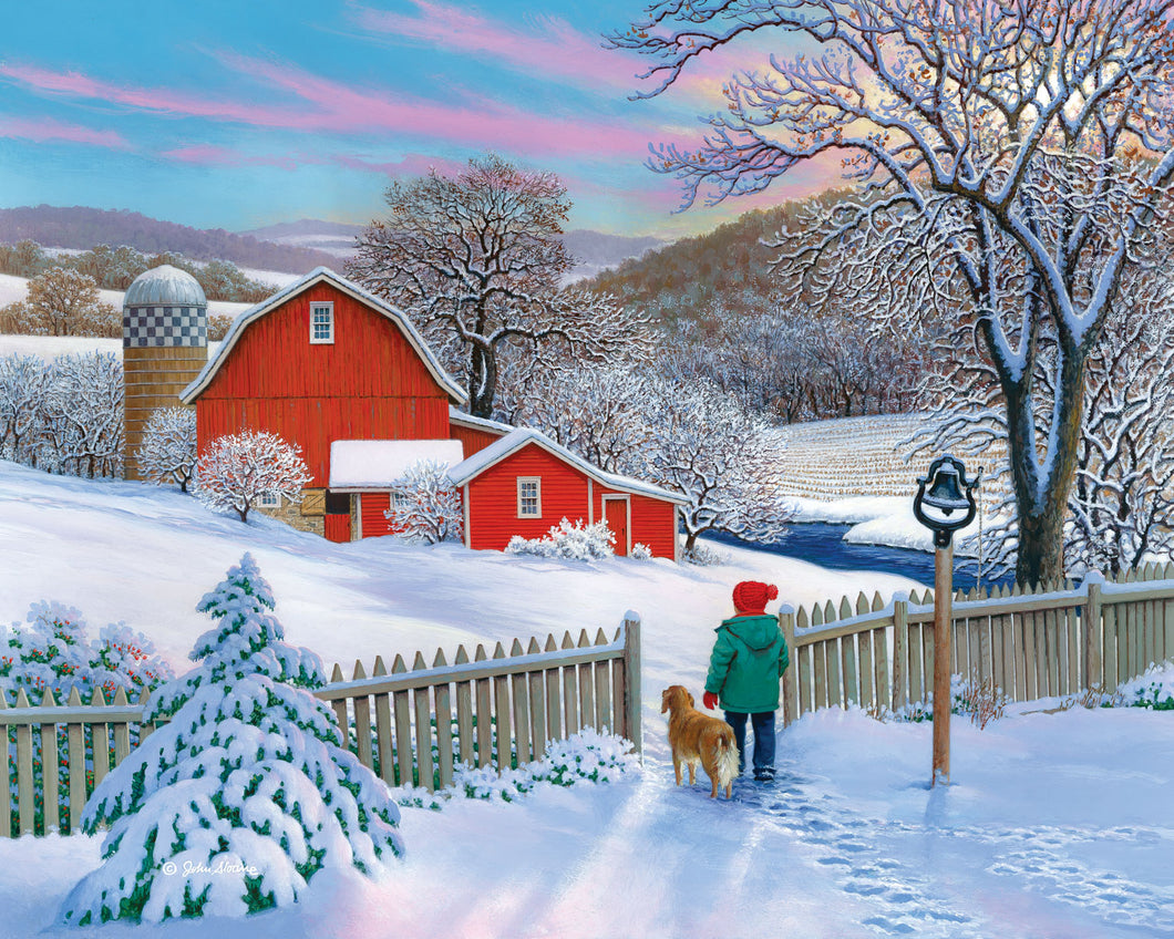 Fresh Start - Puzzle by John Sloane