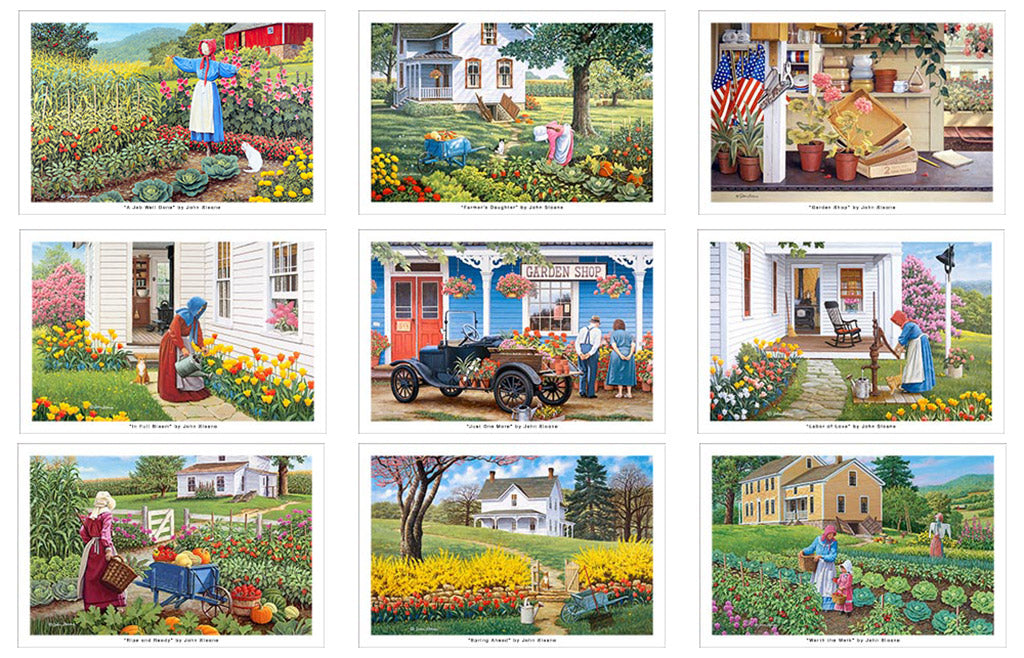 Garden Glory Postcard Set