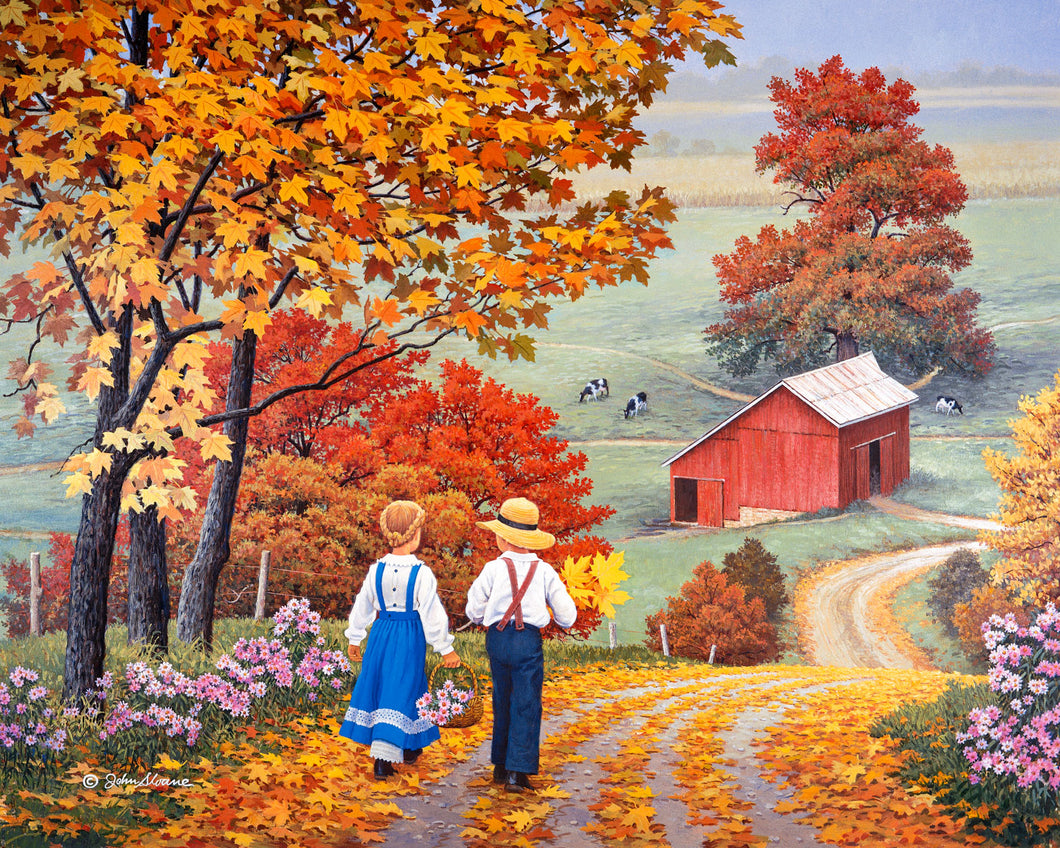 Golden Days - Puzzle by John Sloane