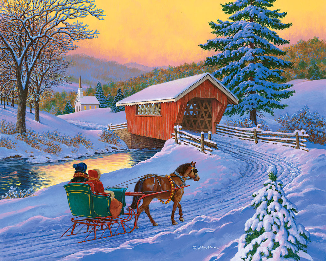 Golden Moments - Puzzle by John Sloane