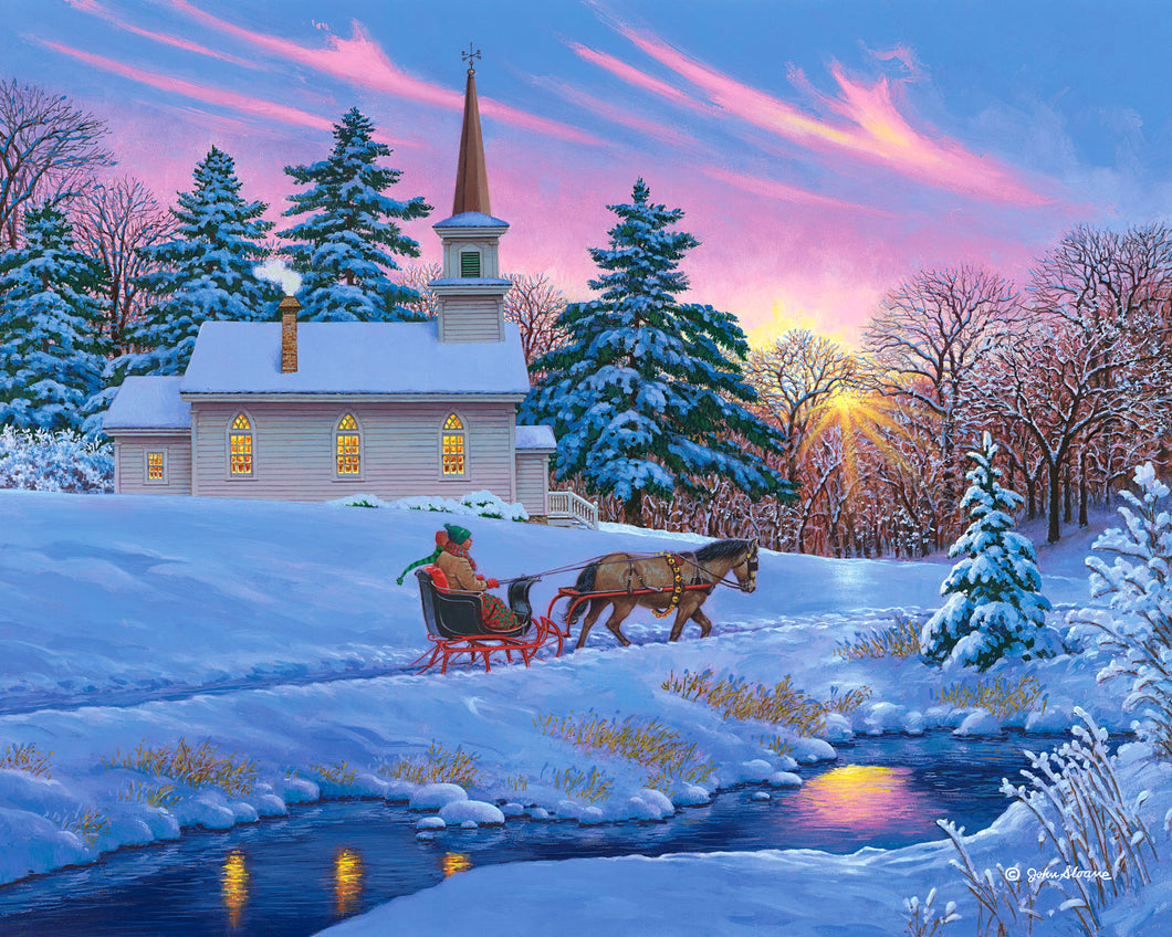 Guiding Light - Puzzle by John Sloane