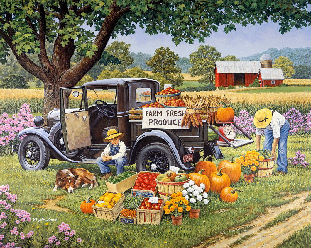Home Grown - Puzzle by John Sloane