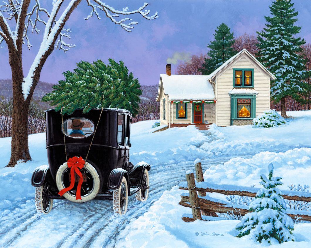 O Christmas Tree - Puzzle by John Sloane