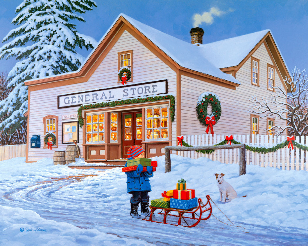 One Stop Shopping - Puzzle by John Sloane