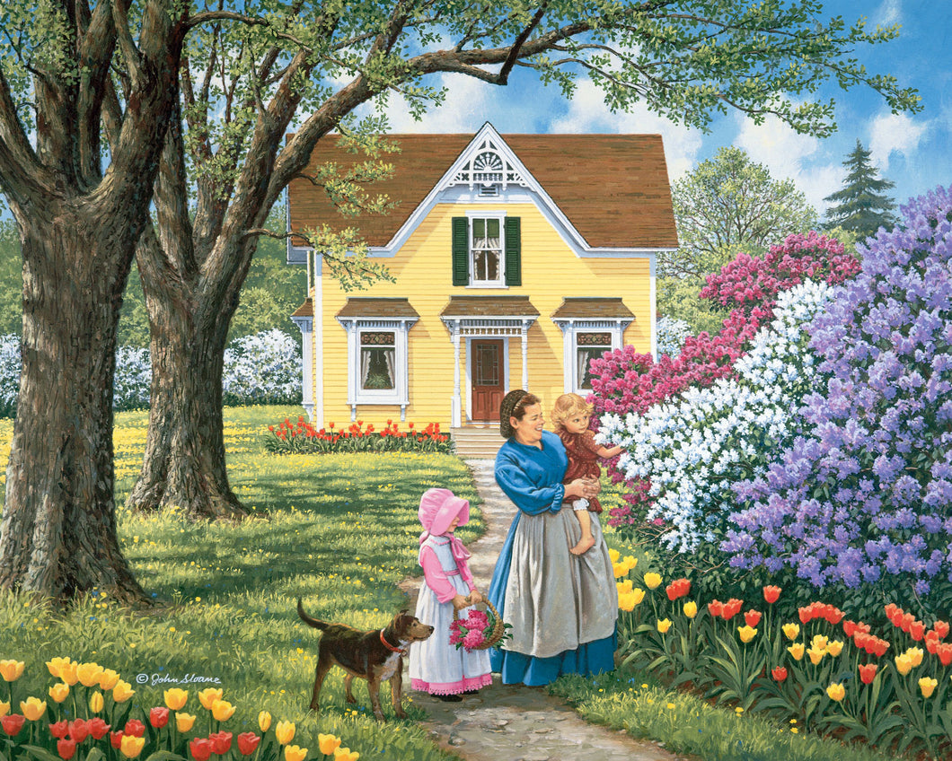Precious Flowers - Puzzle by John Sloane