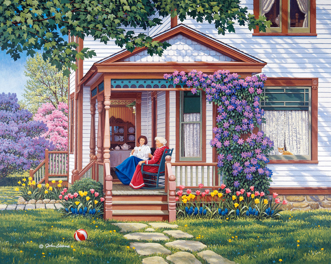 Sit a Spell - Puzzle by John Sloane
