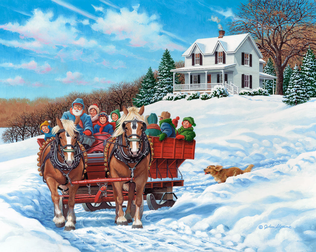 The More the Merrier - Puzzle by John Sloane