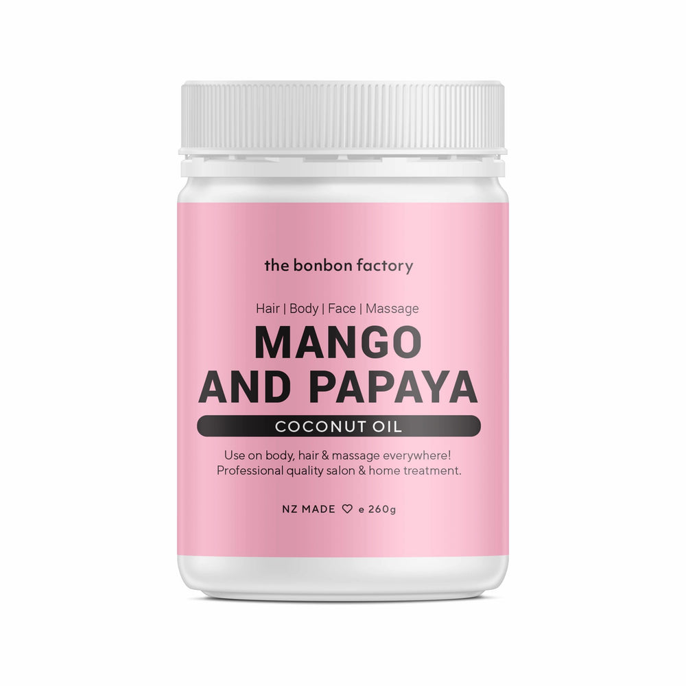 Mango and Papaya Coconut Oil