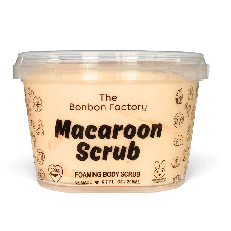 Mango & Papaya Scrub Whip |The Bonbon Factory