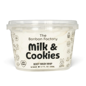 Milk & Cookies Body Wash Whip |The Bonbon Factory