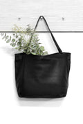 Nora Leather Handbag Black