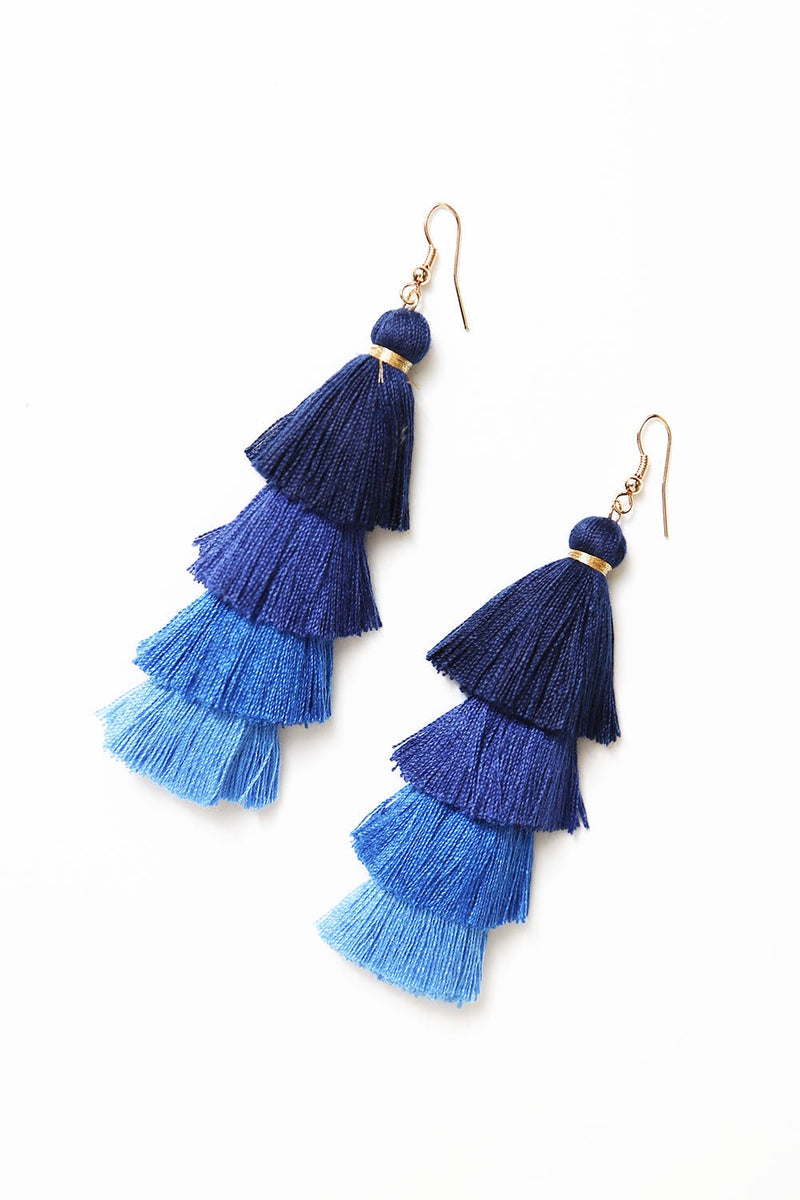 Camilla Earrings Blue