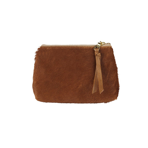 Coin Purse All Tan Cowhide
