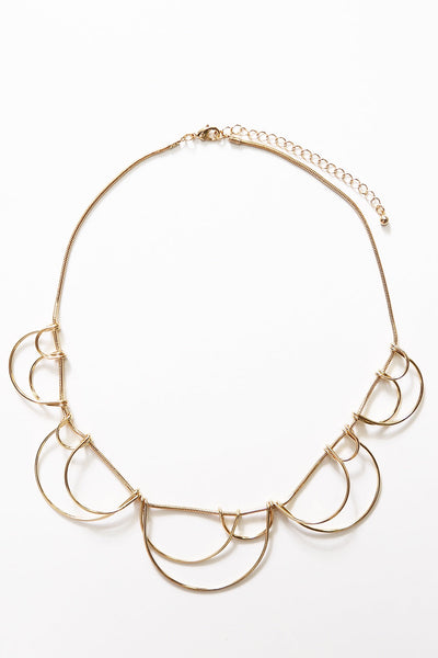 Sola Necklace Gold