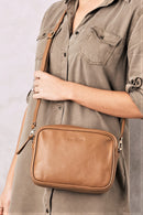 Liana Leather Bag Tan