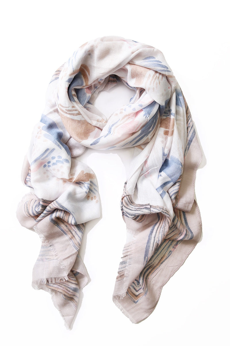 Erica Cashmere Scarf Dusty Pink
