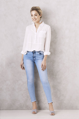 Angelica Jeans Light Blue