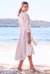 Amalfi Linen Dress Oatmeal