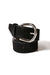 Jeans Belt All Black Cowhide