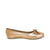 Ballet Flats Gold Metallic