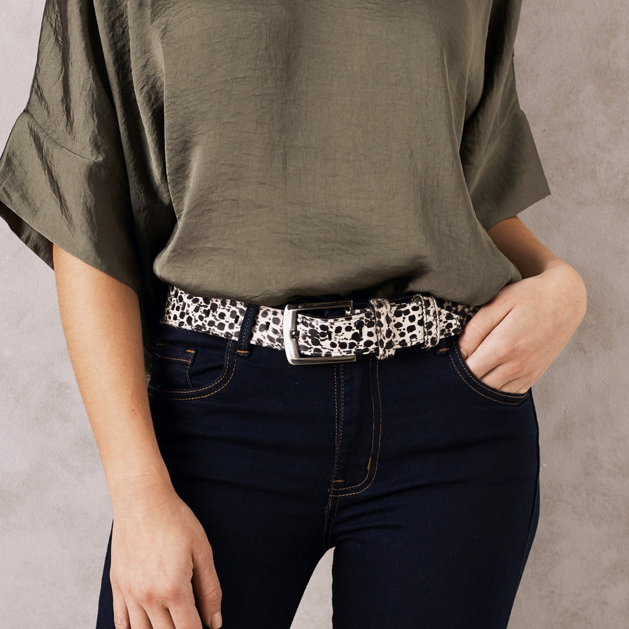Jeans Belt Cheetah