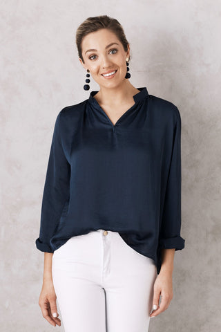 Palermo Top in Navy