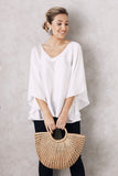 Angel Top White